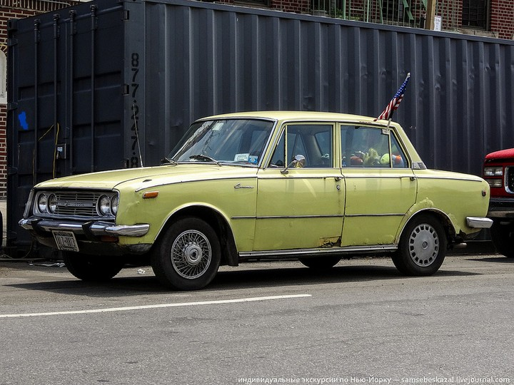 Фото старых американских машин Нью-Йорка. Ностальгия (5)