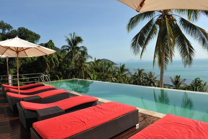 Роскошная вилла в Тайланде — Villa Beige, красивый отель с видом на море (6)
