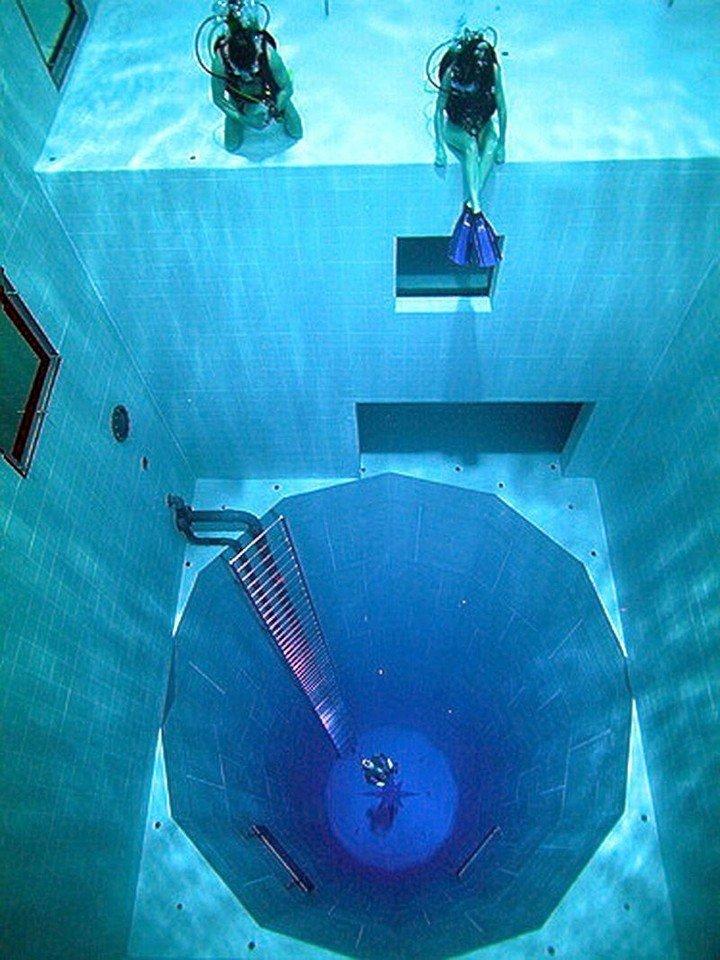 Самый глубокий бассейн в мире расположен в Бельгии (7)