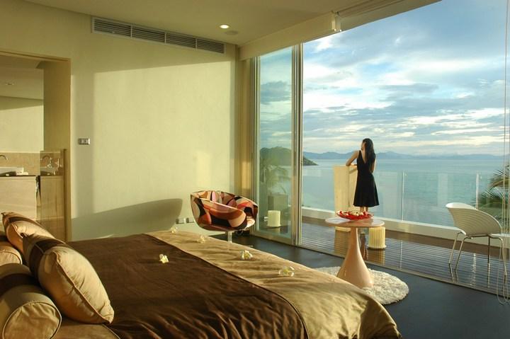 Роскошная вилла в Тайланде — Villa Beige, красивый отель с видом на море (10)