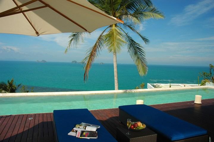 Роскошная вилла в Тайланде — Villa Beige, красивый отель с видом на море (11)