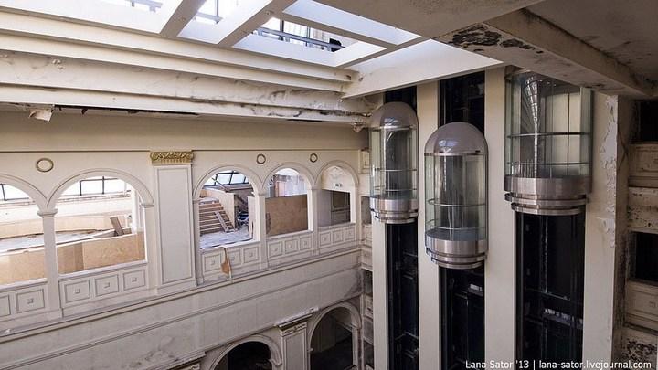 Абандон. Заброшенная пятизвездочная гостиница в Питере (13)
