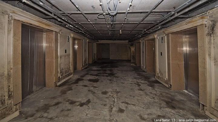Абандон. Заброшенная пятизвездочная гостиница в Питере (15)