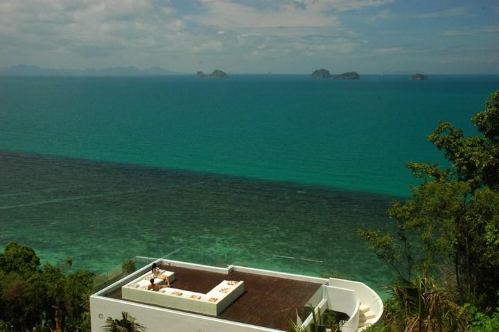 Роскошная вилла в Тайланде — Villa Beige, красивый отель с видом на море (16)