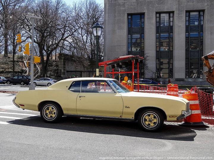 Фото старых американских машин Нью-Йорка. Ностальгия (18)