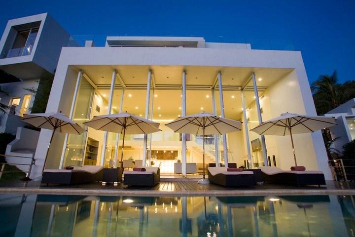 Роскошная вилла в Тайланде — Villa Beige, красивый отель с видом на море (20)