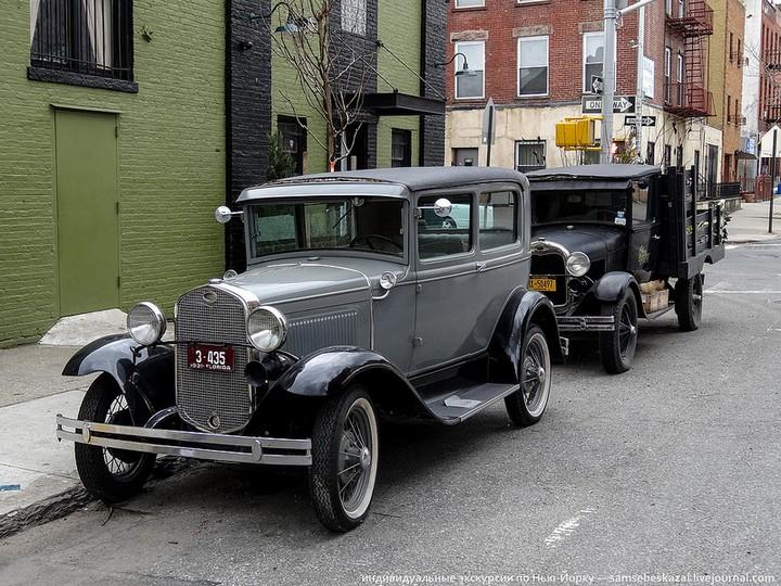 Фото старых американских машин Нью-Йорка. Ностальгия (21)