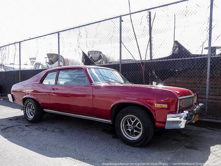 Фото старых американских машин Нью-Йорка. Ностальгия (24)