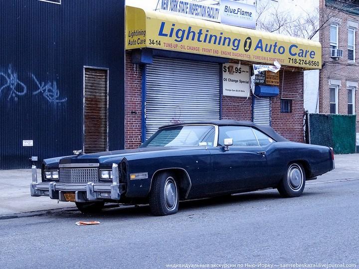 Фото старых американских машин Нью-Йорка. Ностальгия (29)