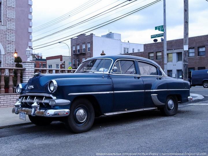 Фото старых американских машин Нью-Йорка. Ностальгия (33)