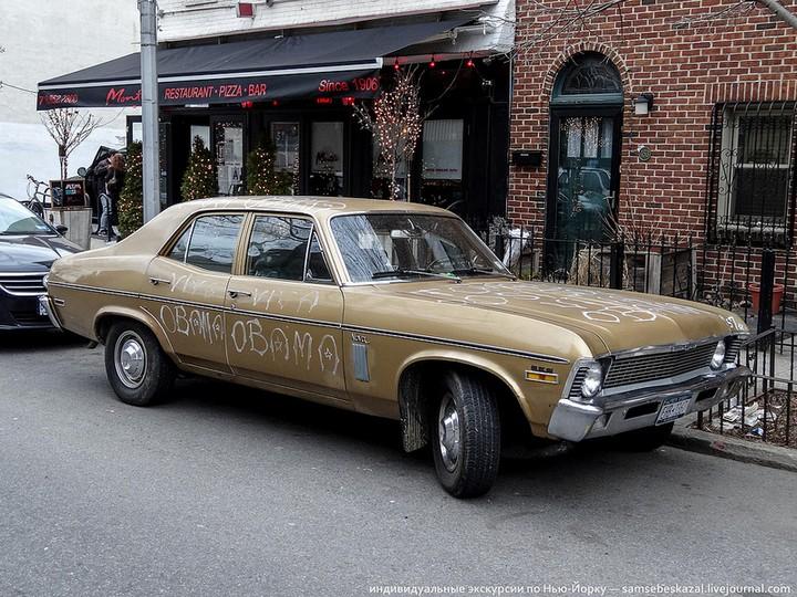 Фото старых американских машин Нью-Йорка. Ностальгия (38)