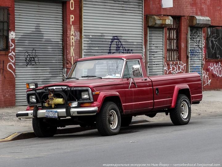 Фото старых американских машин Нью-Йорка. Ностальгия (39)