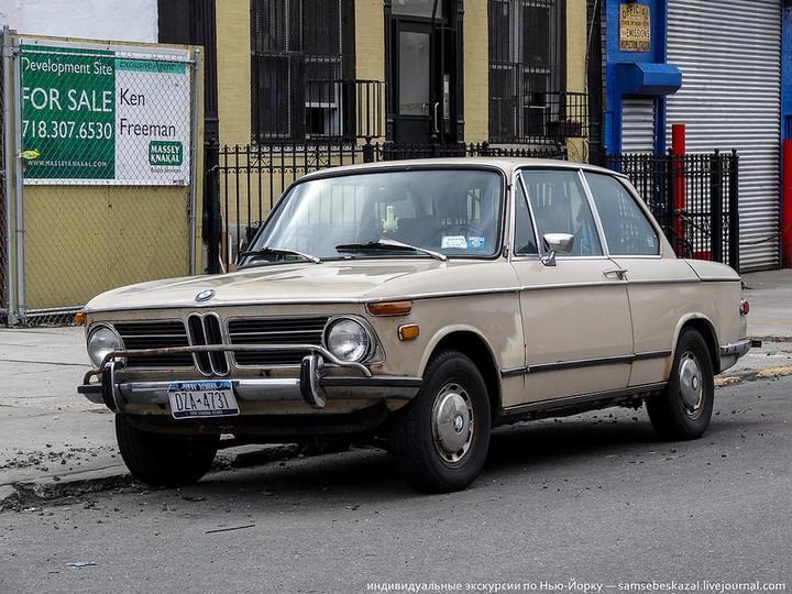 Фото старых американских машин Нью-Йорка. Ностальгия (42)