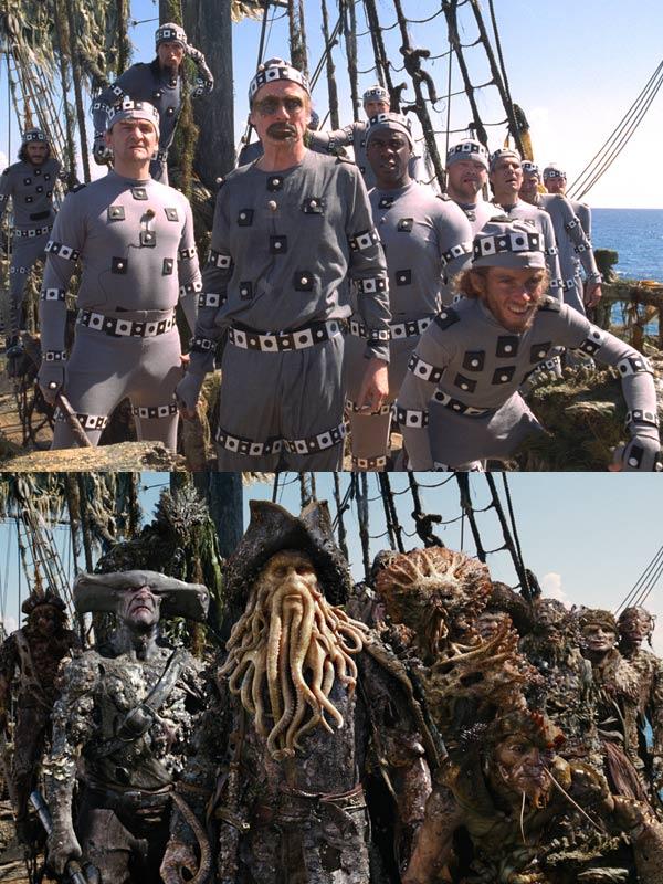 "Как снимали ""Пираты Карибского моря"""