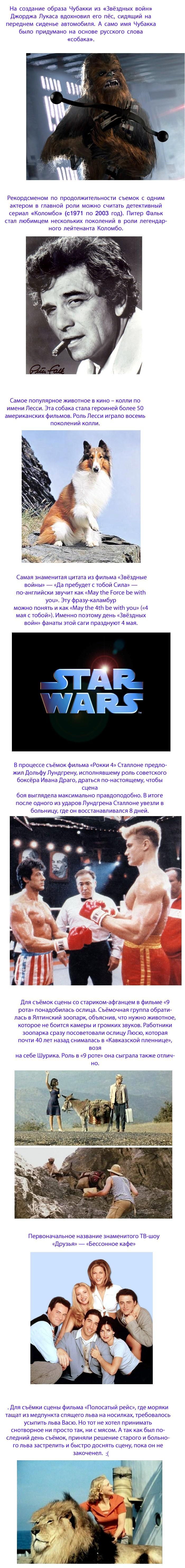 Интересные факты из мира кино (2)