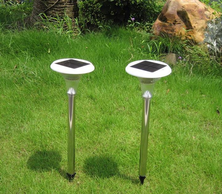 Организуем освещение сада: новые солнечные батареи