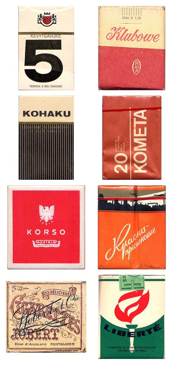 Сигаретные пачки из прошлого, Старые пачки сигарет, подборка фото, коллекция пачек из под сигарет (19)