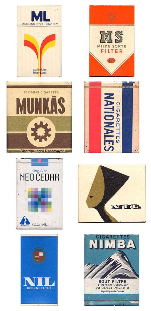 Сигаретные пачки из прошлого, Старые пачки сигарет, подборка фото, коллекция пачек из под сигарет (16)