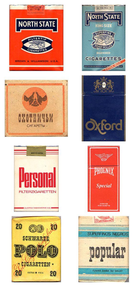 Сигаретные пачки из прошлого, Старые пачки сигарет, подборка фото, коллекция пачек из под сигарет (15)