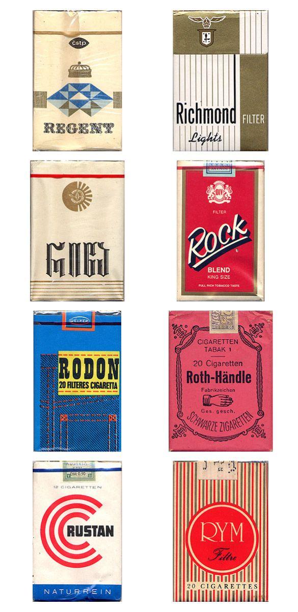 Сигаретные пачки из прошлого, Старые пачки сигарет, подборка фото, коллекция пачек из под сигарет (13)