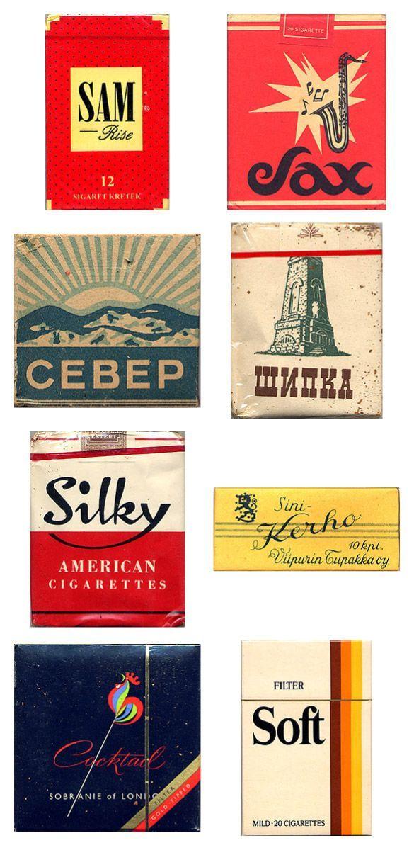 Сигаретные пачки из прошлого, Старые пачки сигарет, подборка фото, коллекция пачек из под сигарет (12)