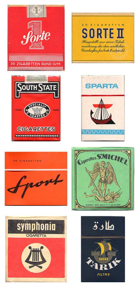 Сигаретные пачки из прошлого, Старые пачки сигарет, подборка фото, коллекция пачек из под сигарет (11)