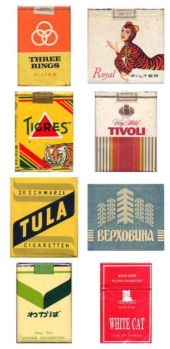 Сигаретные пачки из прошлого, Старые пачки сигарет, подборка фото, коллекция пачек из под сигарет (10)