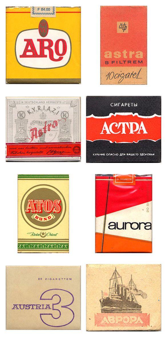 Сигаретные пачки из прошлого, Старые пачки сигарет, подборка фото, коллекция пачек из под сигарет (7)