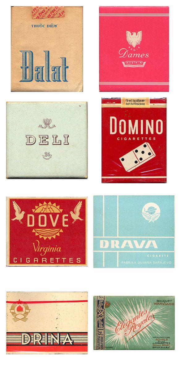 Сигаретные пачки из прошлого, Старые пачки сигарет, подборка фото, коллекция пачек из под сигарет (5)
