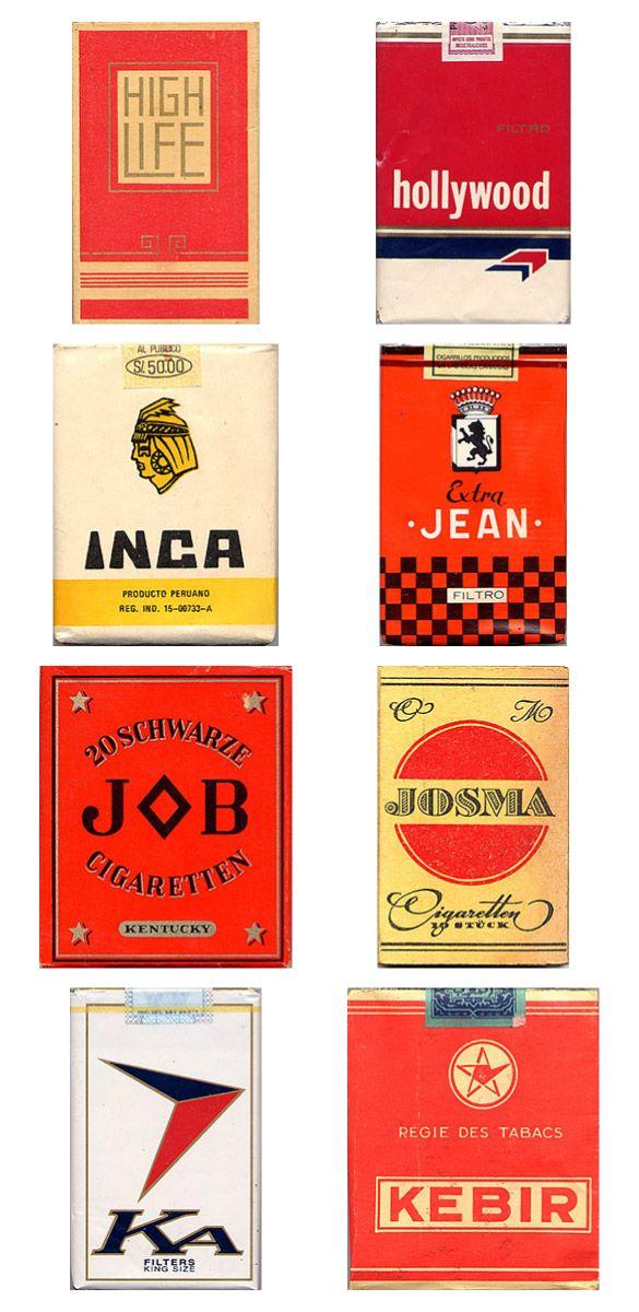 Сигаретные пачки из прошлого, Старые пачки сигарет, подборка фото, коллекция пачек из под сигарет (2)