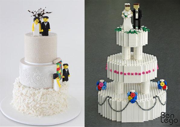 Самые необычные и красивые свадебные торты. Прикольные торты на свадьбу (11)