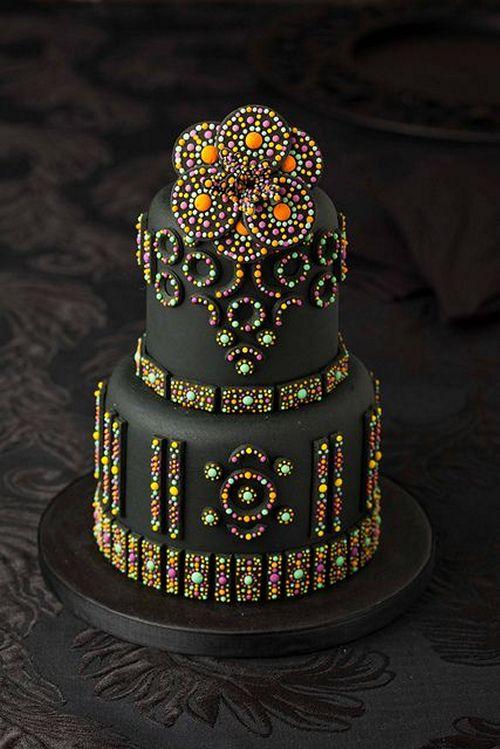 Самые необычные и красивые свадебные торты. Прикольные торты на свадьбу (14)