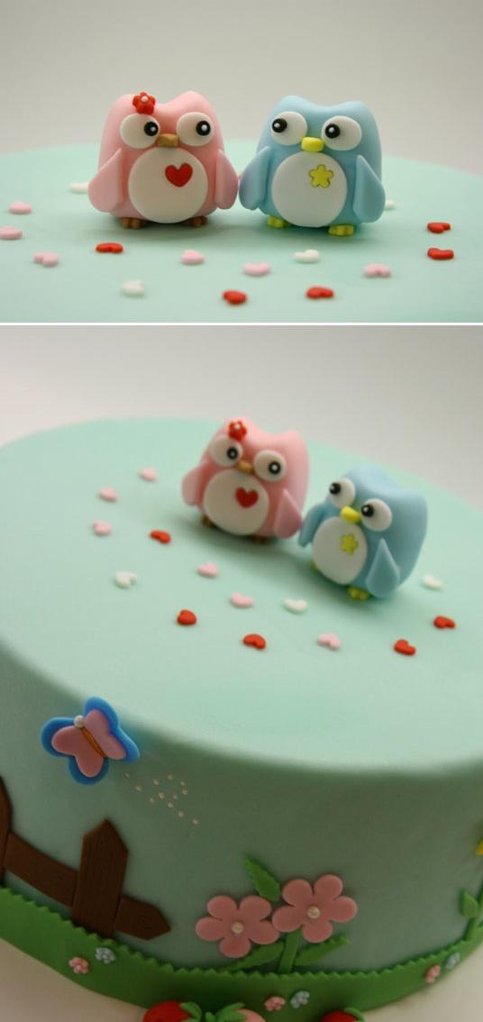 Самые необычные и красивые свадебные торты. Прикольные торты на свадьбу (18)