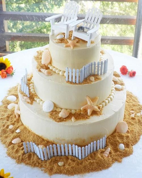 Самые необычные и красивые свадебные торты. Прикольные торты на свадьбу (19)
