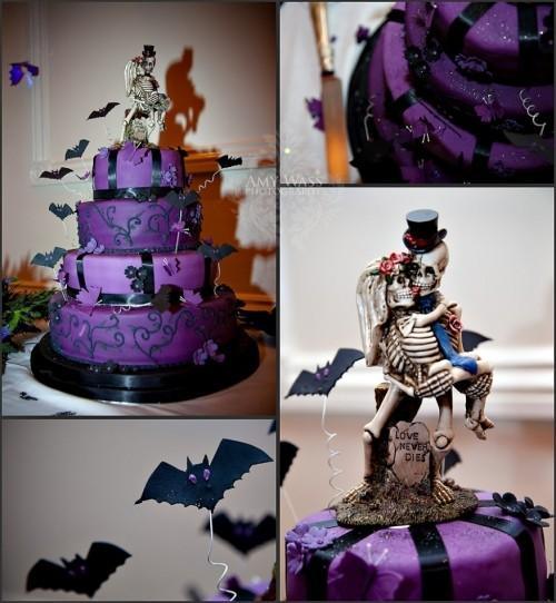 Самые необычные и красивые свадебные торты. Прикольные торты на свадьбу (5)