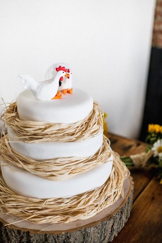 Самые необычные и красивые свадебные торты. Прикольные торты на свадьбу (6)