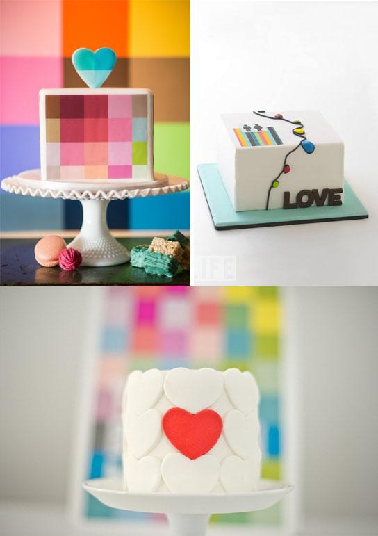 Самые необычные и красивые свадебные торты. Прикольные торты на свадьбу (9)