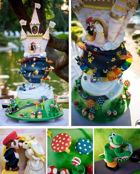 Самые необычные и красивые свадебные торты. Прикольные торты на свадьбу (10)