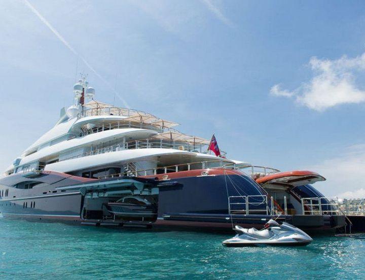 Самые дорогие и роскошные яхты в мире. Красивая яхта (1)