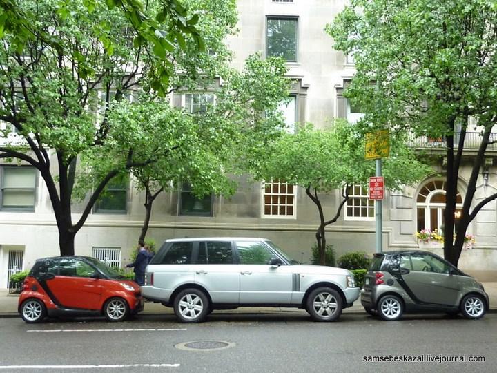 Как паркуются в Нью-Йорке (1)