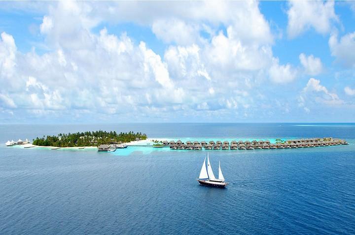 Отель W Retreat & Spa — райский уголок на Мальдивах, фото с Мальдив (2)