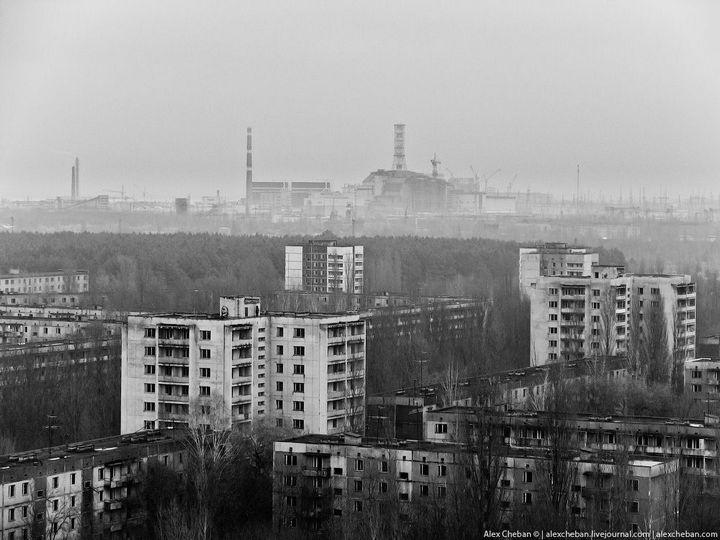 Фото Чернобыля сверху (1)