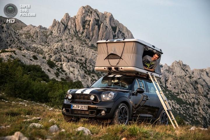 новый MINI Cooper S Countryman ALL4 Camp дом на колесах (2)