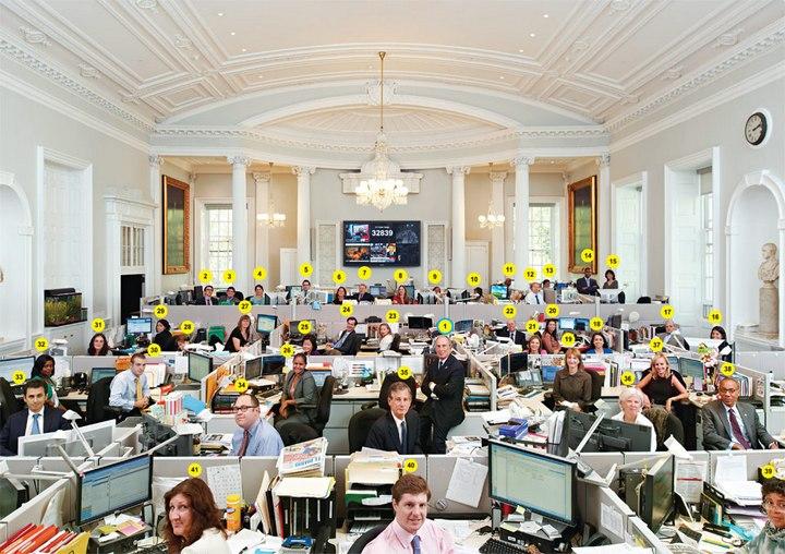 Рабочие места российских и американских чиновников, кабинеты российских и американских правительств (3)