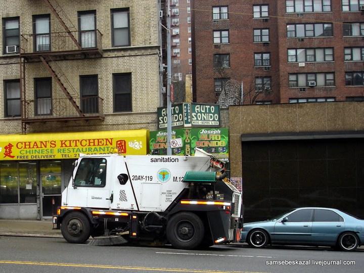 Как паркуются в Нью-Йорке (3)