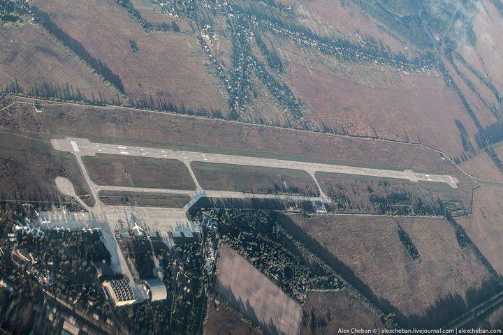 Фото Чернобыля сверху (3)