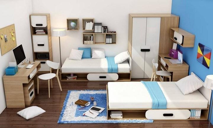 Создание интерьера комнаты для мальчика подростка (1)