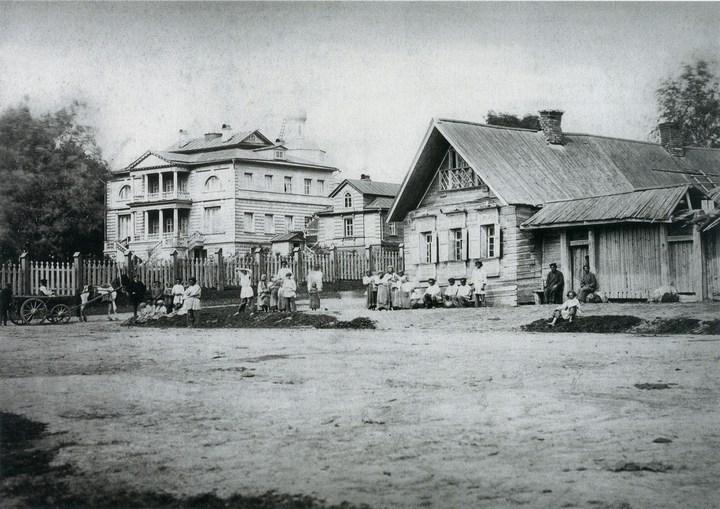 Старые ретро фотографии России, фото русских деревень и крестьян (4)
