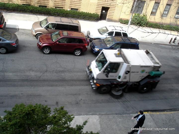 Как паркуются в Нью-Йорке (5)