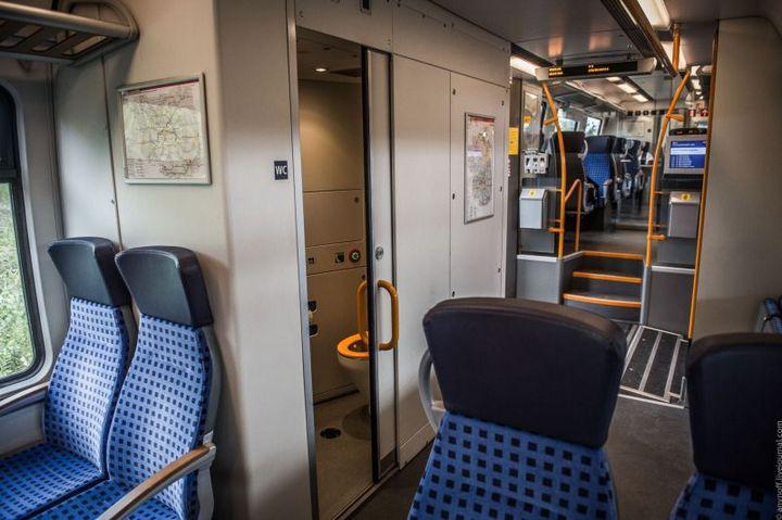 Пригородные поезда в Германии (5)
